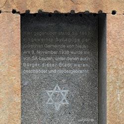 Gedenken an die Pogromnacht vor 80 Jahren
